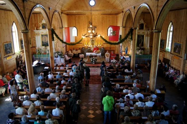 служба в польском костеле