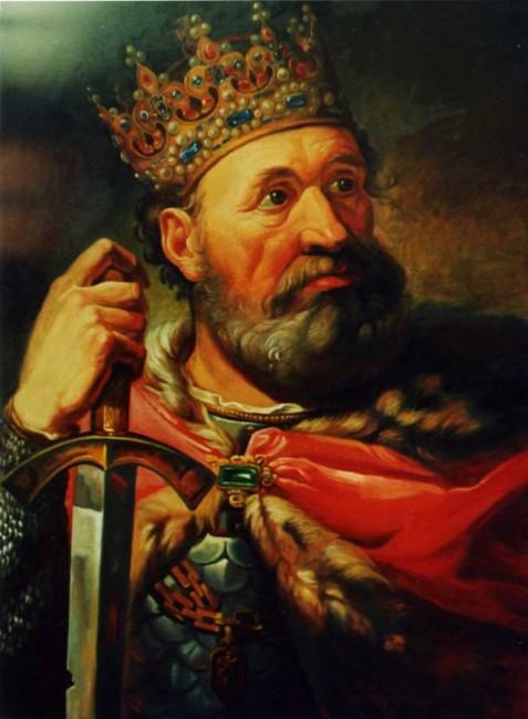 Болеслав Храбрый - король Польши