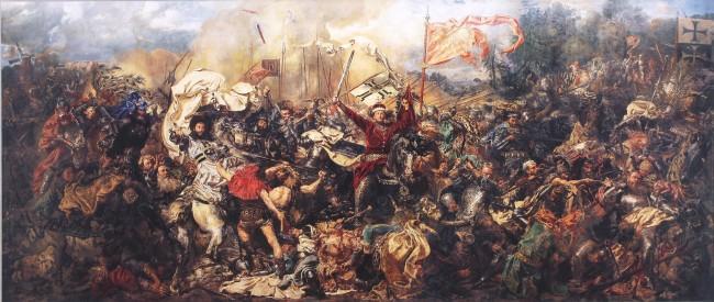 Грюнвальдская битва, Ян Матейко