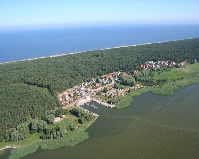 Курорт Крыница Морска, вил сверху