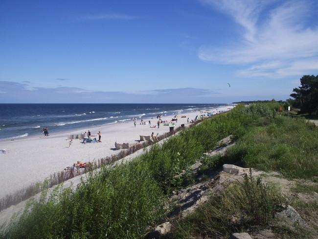 Курорт Ястарня, пляж