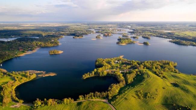 Озера вблизи курорта Леба