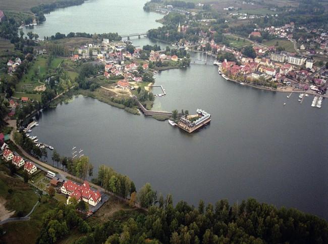 Озеро Снярдвы - самое крупное и чистое озеро Польши