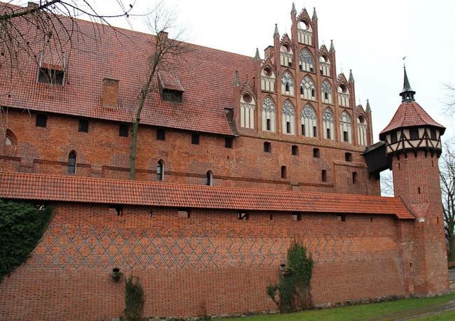 Средний замок в Мальборке