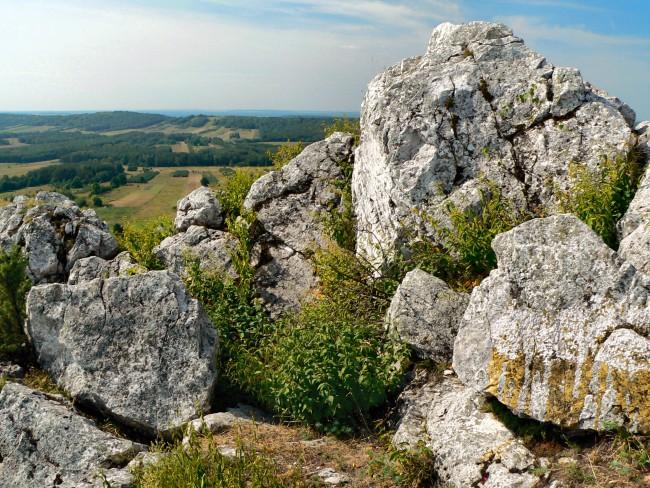 Свентокшиские горы камни