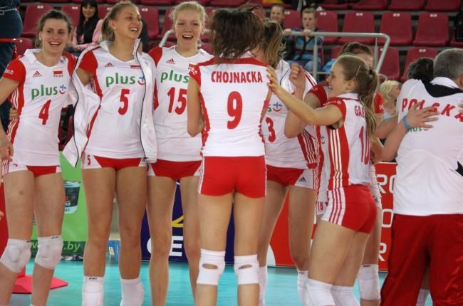 польские волейболистки