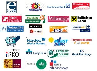 логотипы польских банков