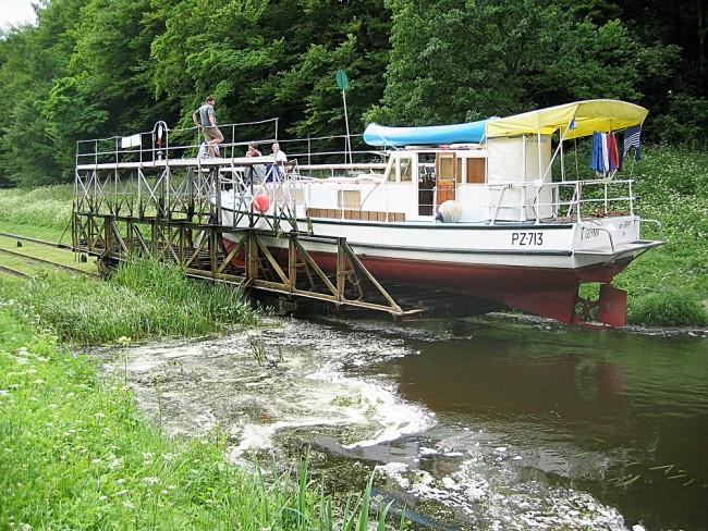 Эльблонгский канал в Польше