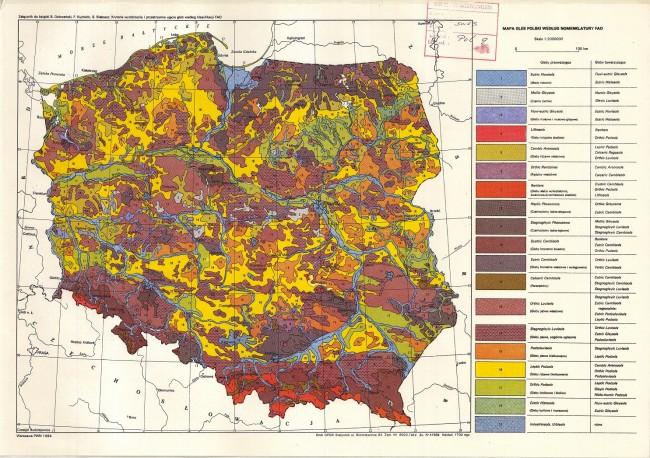 Климатическая карта Польши