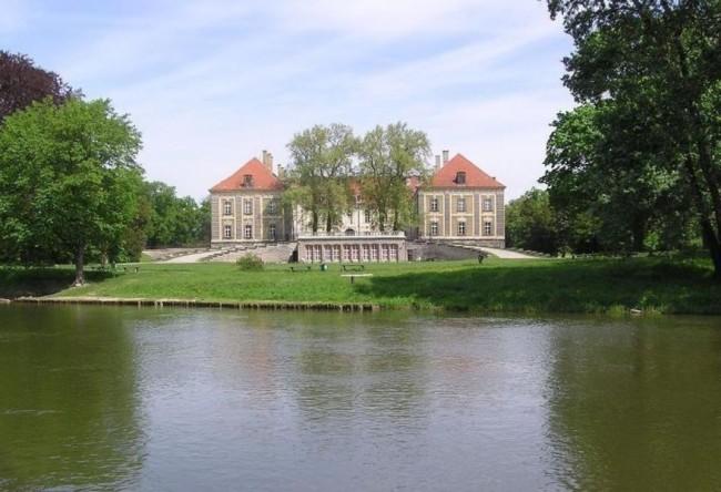 Дворец в городе Жагань