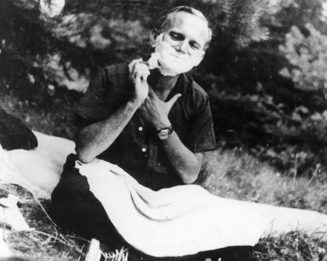 Папа Римский Иоанн Павел II в молодости