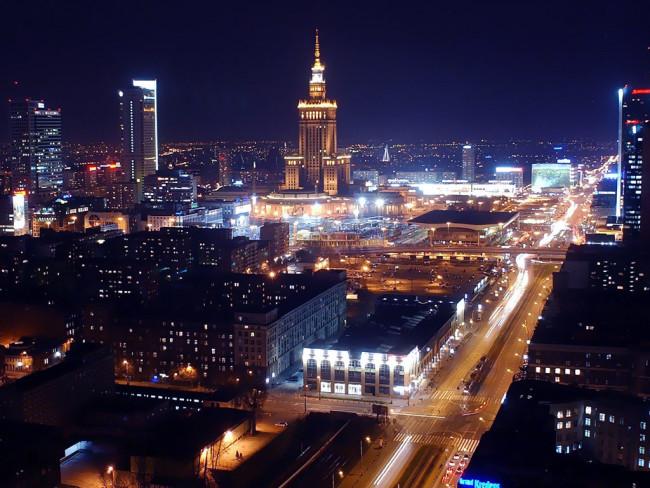 Столица воеводства - Варшава
