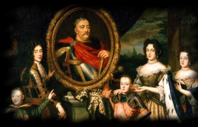 Большая королевская семья Яна Собеского