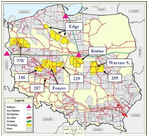Природные ресурсы Польши