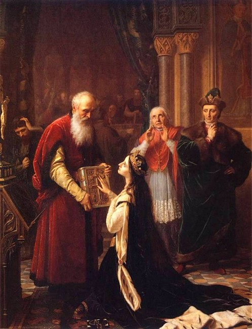 Клятва королевы Ядвиги, Национальный музей, Варшава