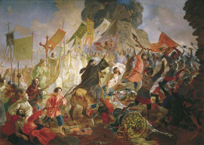 Осада Пскова польским королем Стефаном Баторием
