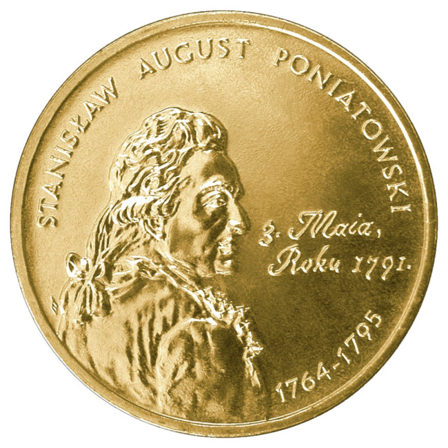 Монета Станислава Августа Понятовского