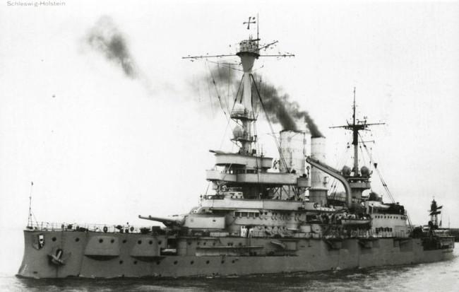 Фотографии эскадренного броненосца Schleswig-Holstein