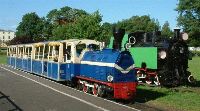 Парковая железная дорога Мальтанка