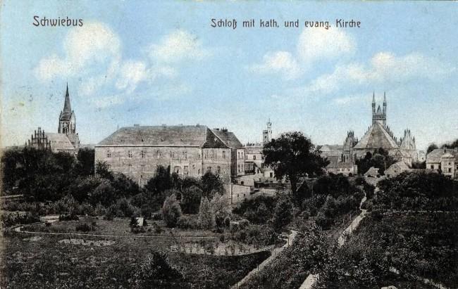 Castle in Świebodzin