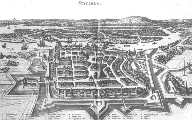 История города Щецин