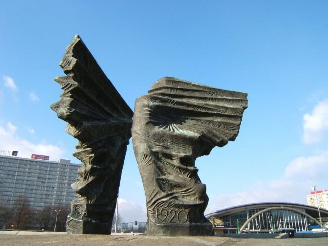 Памятник Силезских повстанцев