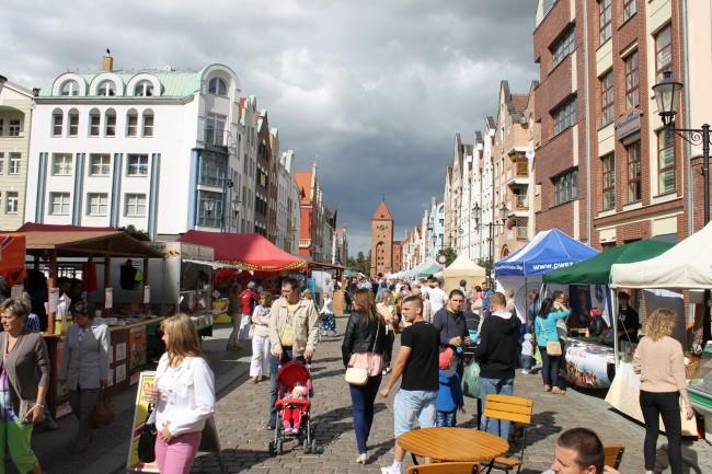 Эльблонг, главная улица города