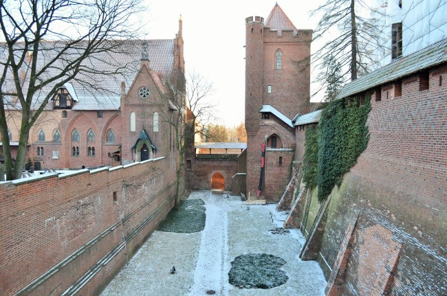 Фрагменты замка Эльблонг