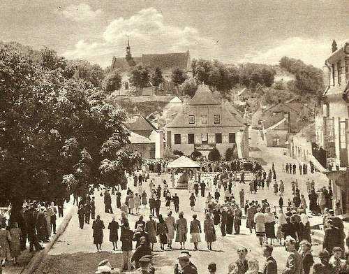 Казимеж Дольны, старые фотографии города