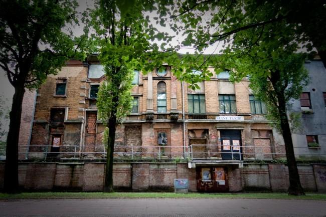 Руины Городского театра в Гливице