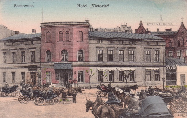 Сосновец, отель Виктория