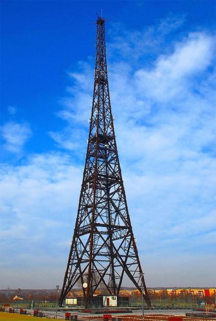 Вышка радиостанции в Гливице