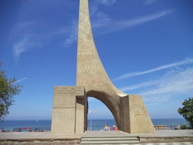 Памятник обручение Польши с морем