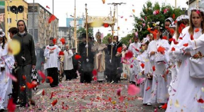 Праздник тела и крови христовых в Польше